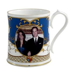 Aynsley China Aynsley Royal Wedding Stafford Tankard