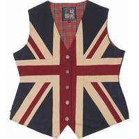 Union Jack Waist Coat XS