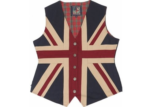 Woven Magic Union Jack Waist Coat XS