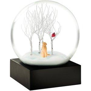 Cool Snow Globes Cool Snow Globes Cardinal Singing