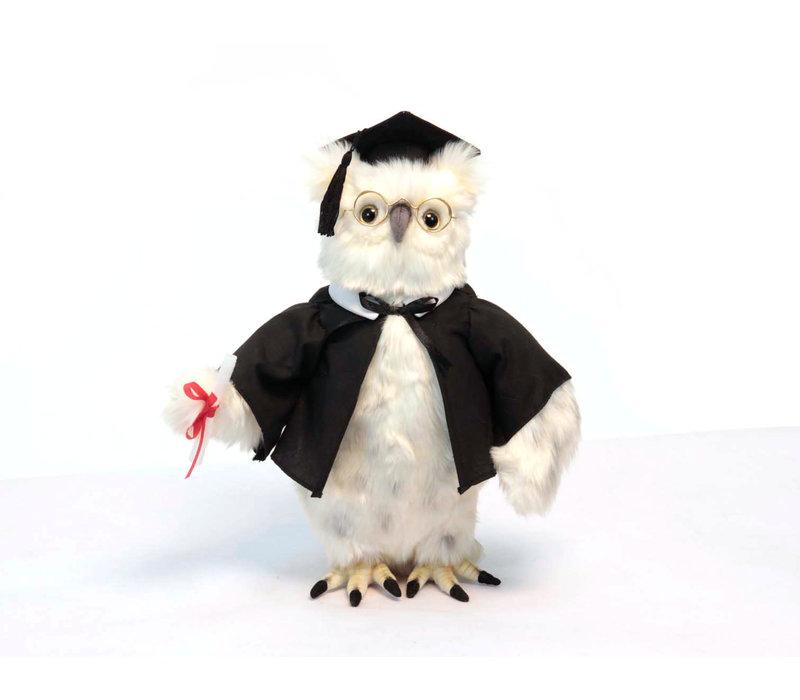 Graduation Stuffed Owl