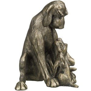 Frith Sculpture Frith Amber with Pup
