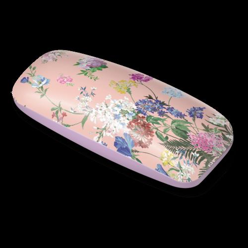 Floral Pop Pink Glasses Case