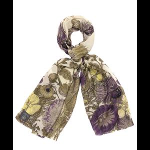Thistle Purple Scarf