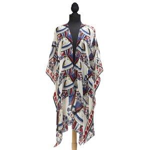 Queen of Hearts Long Kimono
