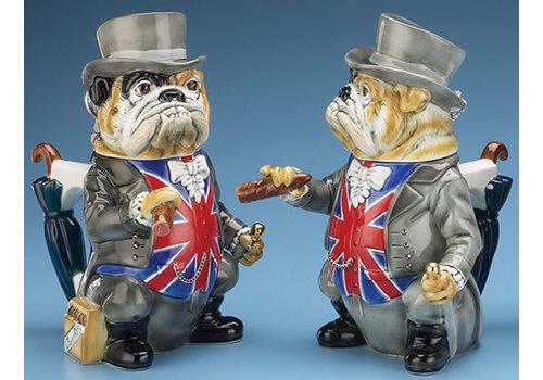 Winston Churchill Bulldog Stein