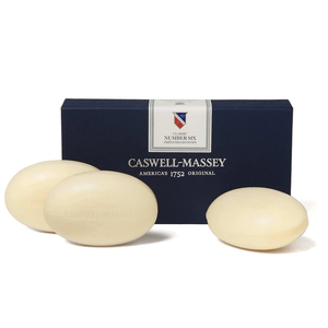 Caswell-Massey Caswell-Massey Number 6 Triple Milled Bar Soap Set of 3