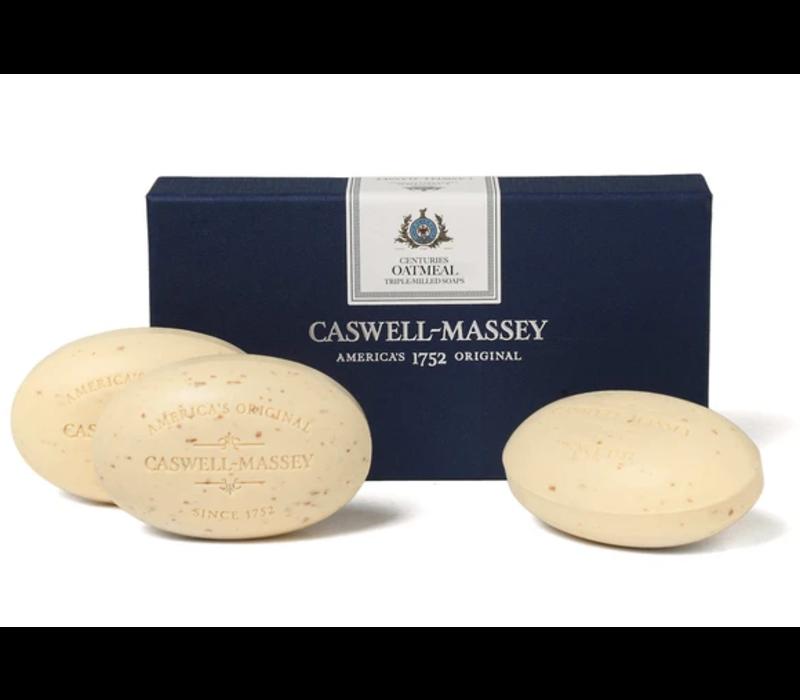 Caswell-Massey Oatmeal Bar Soap Set