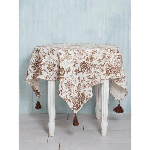April Cornell April Cornell Felicity 48x72 Tablecloth Brown