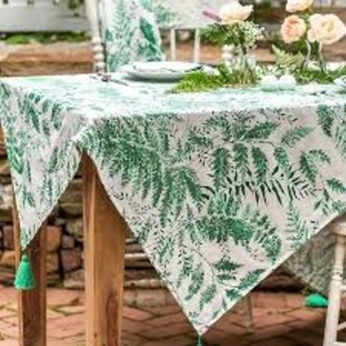 April Cornell April Cornell Spring Green 48x72 Tablecloth