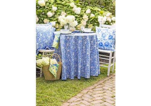 April Cornell Madison Flower round tablecloth