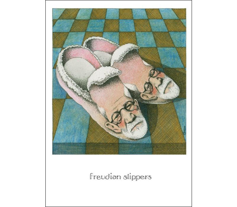 Freudian Slippers Card
