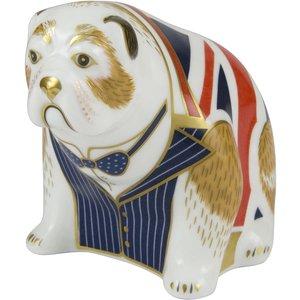 Royal Crown Derby Winston Churchill Bulldog