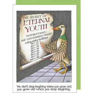 sugarhouse greetings eternal youth card SD239