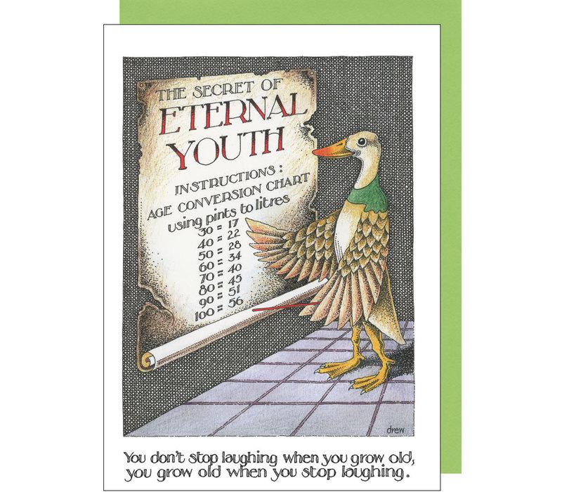 Eternal Youth Duck Card
