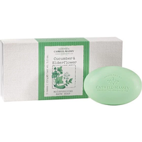Cucumber & Elderflower Bath Soap Set of 3