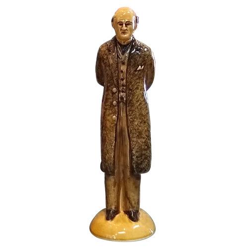 Babbacombe Pottery Professor J. Moriarty Honey Glaze Statue