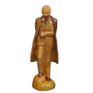 Babbacombe Pottery Sherlock Holmes Honey Glaze Statue