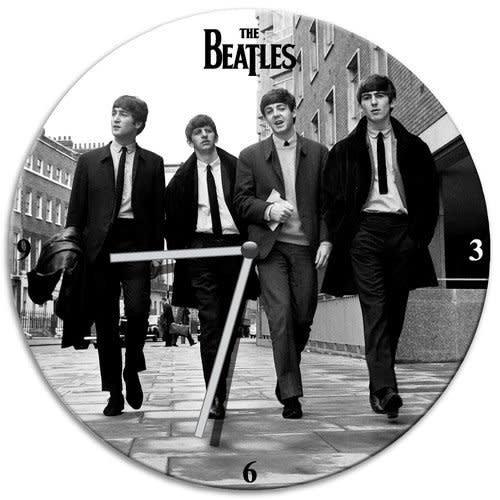 The Beatles The Beatles Cordless Wood Wall Clock