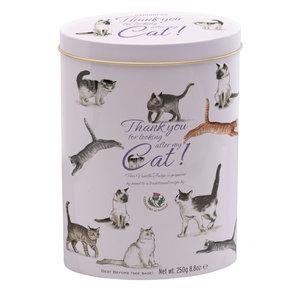 Gardiners of Scotland Gardiners Thank You Vanilla Fudge Tin - Cat