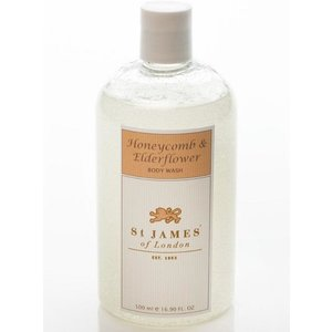 St. James of London St. James Honeycomb & Elderflower Body Wash