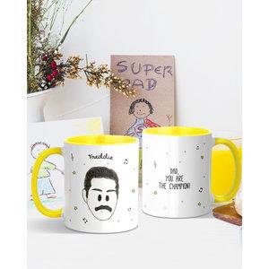"""Freddie Mercury """" Dad  You Are the Champion!"""" Mug"""