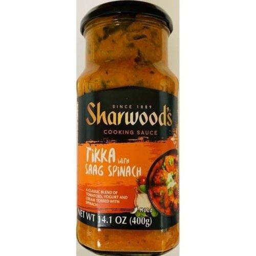 Sharwood's Tikka With Saag Spinach