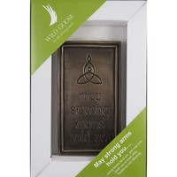 Wild Goose May Strong Arms Hold You Plaque