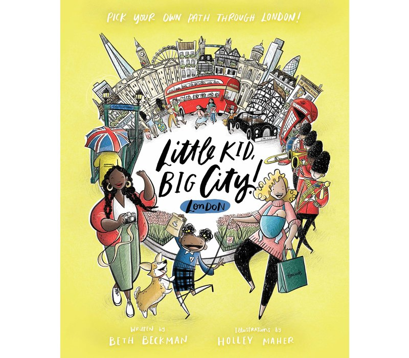 Little Kid Big City (London) By Beth Beckman