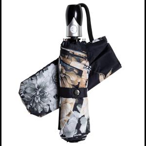"Michel Design Works Gardenia Travel Umbrella 38"" Diameter"