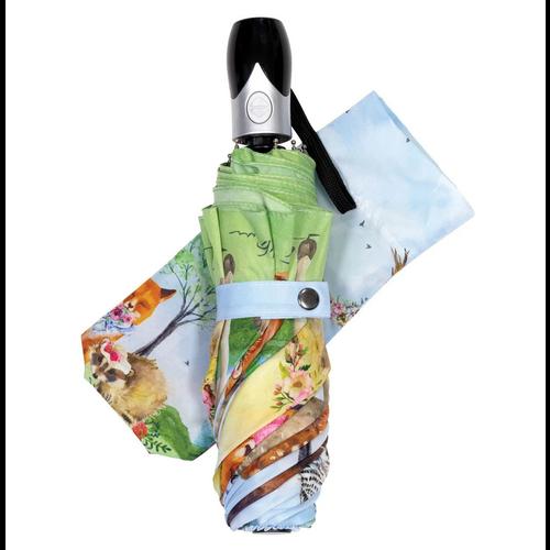 "Michel Design Works Garden Party Travel Umbrella 38"" Diameter"