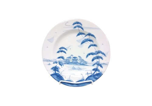Isis Ceramics Isis Blue English Garden - The Temple - Side Plate