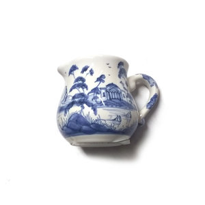 Isis Ceramics Isis Blue English Garden Creamer