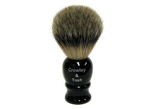 Crowley & Tosh Crowley & Tosh - Imitation Ebony Best Badger Shaving Brush - ab15k