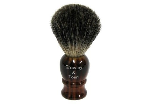 Crowley & Tosh Crowley & Tosh Imitation Horn Mixed Badger Shaving Brush - mb15h