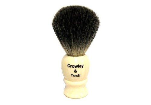 Crowley & Tosh Crowley & Tosh Imitation Ivory Mixed Badger Shaving Brush - MB15I