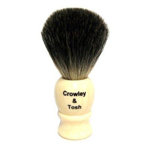 Crowley & Tosh MB15I Crowley & Tosh Mixed Badger Shaving Brush - Imitation Ivory