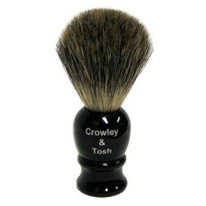 Crowley & Tosh Mb15k Crowley & Tosh Mixed Badger Shaving Brush - Imitation Ebony