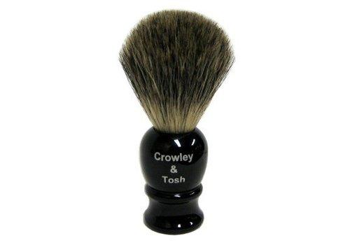 Crowley & Tosh Crowley & Tosh Imitation Ebony  Mixed Badger Shaving Brush - Mb15k