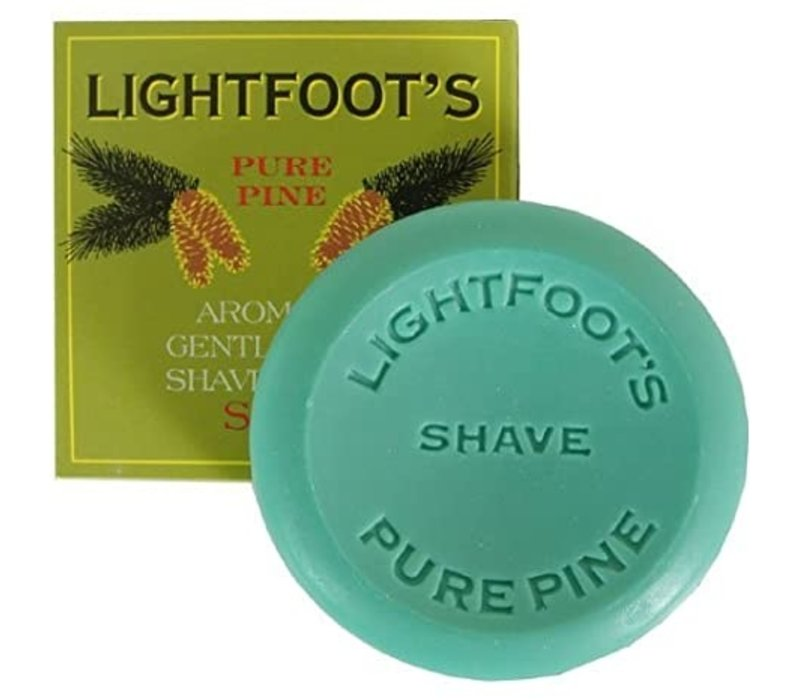 Lightfoot's Pure Pine Shave Creme Soap