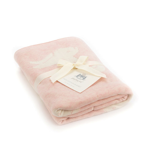 Jellycat Jellycat Bashful Pink Bunny Blanket