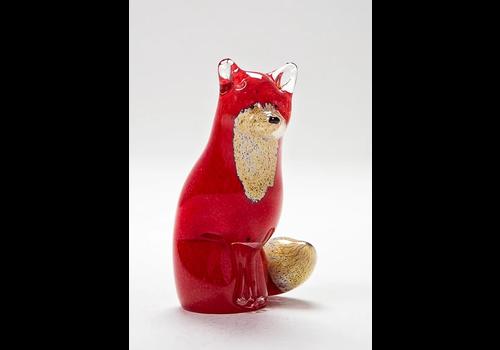Langham Glass Small Fox Sitting