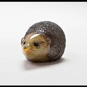 Langham Glass Small  Hedgehog Glass Figurine