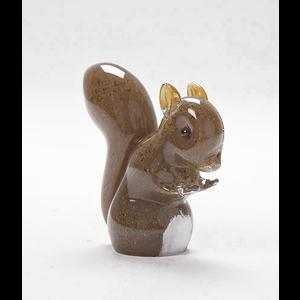 Langham Glass Red Squirrel Glass Figurine