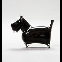 Scottie Glass Figurine