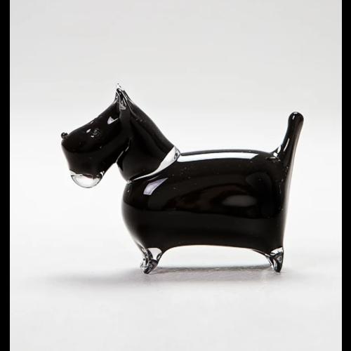 Langham Glass Scottie Glass Figurine