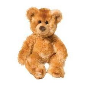 Douglas Toys Waffles Bear Cinnamon Small