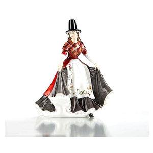 English Ladies Figurines English Ladies Co. Celtic Ladies - Wales