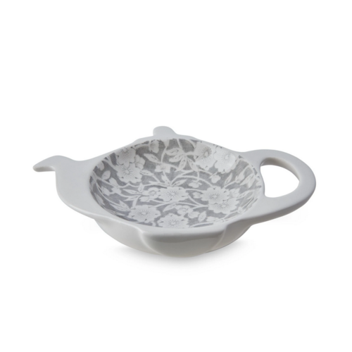 Burleigh Pottery Calico Grey Mini Teapot Tray - Boxed
