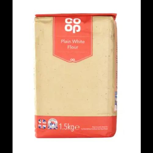 Co Op Plain White Flour